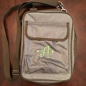 Thirty-One Book/Tablet Crossbody Bag, EUC,